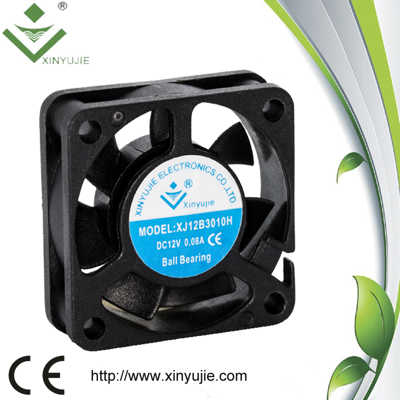 12v high speed ventilation portable bladeless fan 30x30x10 3010