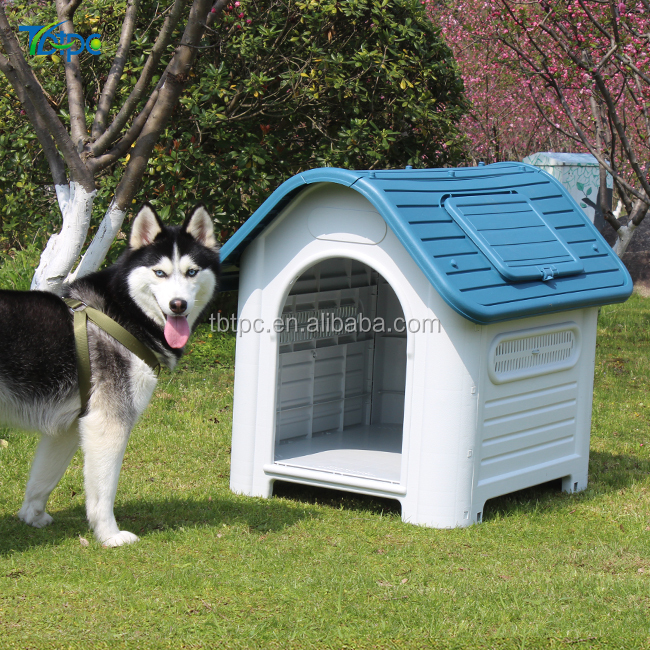 All Seasons Kennel decorative cheap Plastic Pet home indoor outdoor pet plastic dog house