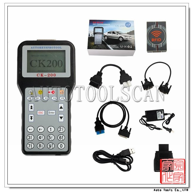 AKP104 2017 CK200 CK-200 Auto Key Programmer Car Locksmith Auto Key Pro Tool CK200 Updated Version