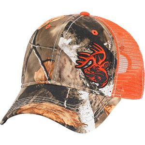 Guangzhou fashion oem orange printed blank custom hunting caps for men