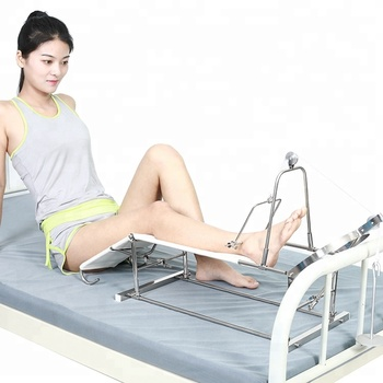 Medical devices leg orthopedics traction frame