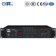 OBT-D6155 PA System 5 Zone Integrated Amplifier ,Professioanl 5 Zone USB Mixer audio power amplifier