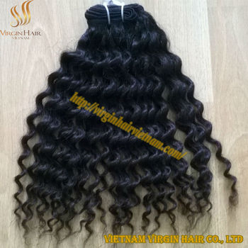 full cuticle single drawn 100 human hair curly hair for african