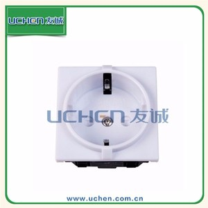 YGB-041 Germany snap-in 16A 250V Germany 20 amps industrial socket