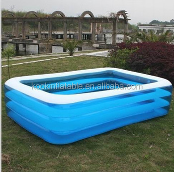 Largest Inflatable Pool With Bubble Floor For Adult Family Swimming Buy Largest Inflatable