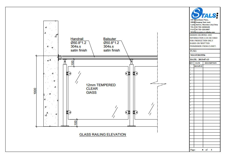 factory custom tempered glass railing balcony railing. Black Bedroom Furniture Sets. Home Design Ideas