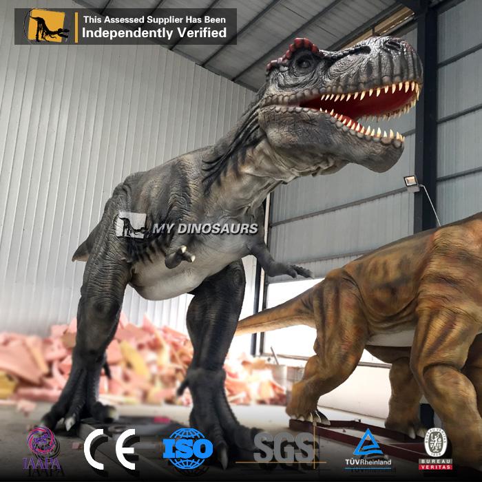 Sponge The Tail For Texture: Amusement Park Animatronic Dinosaur T-rex For Sale