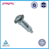 BSCI factory hot sale customized package iron zinc plated hollow wall anchors