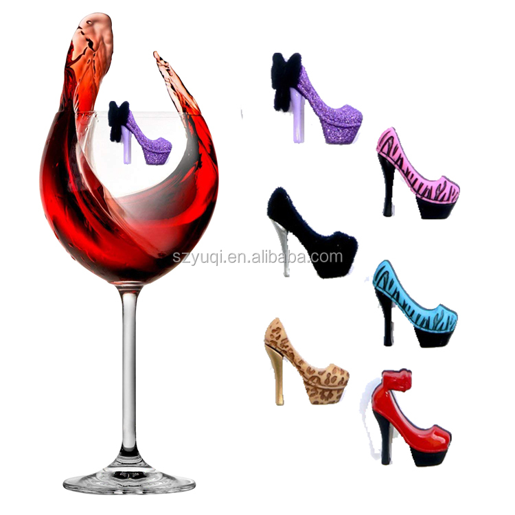 New product ideas 2020 wine accessories magnetic jewel charms for wine glass