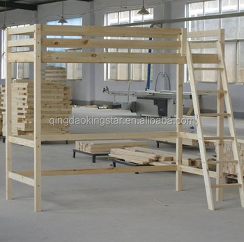 Cheap Wood High Sleeper Bed KS LB08