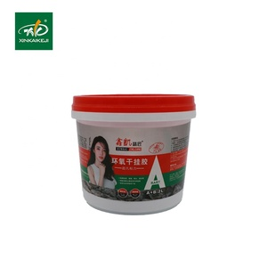 High strength dry hanging structural AB epoxy adhesive glue