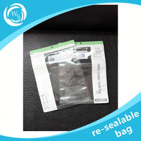 aluminum foil ziplock bags with cheap beautiful and blocking performance
