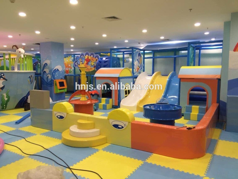 Shopping mall indoor kids playground equipment indoor soft for Indoor play area for kids