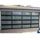 Factory direct prices glass panel garage door automatic garage door glass panel sell