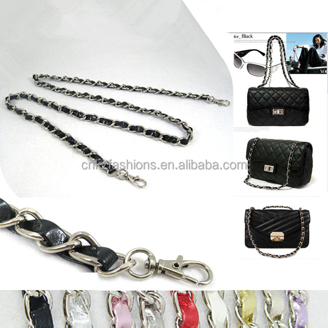 Light Pink 120cm//47.2 Replacement Chain /& PU Synthetic Leather Shoulder Crossbody Straps Bags//Handbag//Handle//Purse