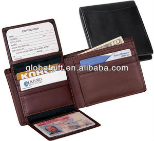 high quality man leather wallet