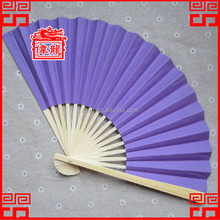 China Customized Double Side wedding Gift Baboom Paper Folding Hand fan DZ-11