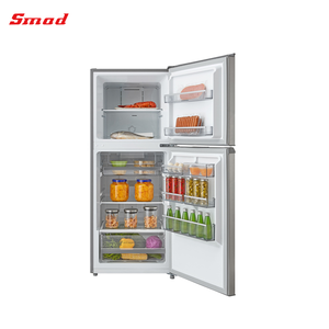 Home Top Mount R600a Double Door No Frost Compact Refrigerator