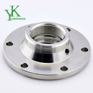Precision cnc turning and cnc machining parts, welding neck collar pipe flange