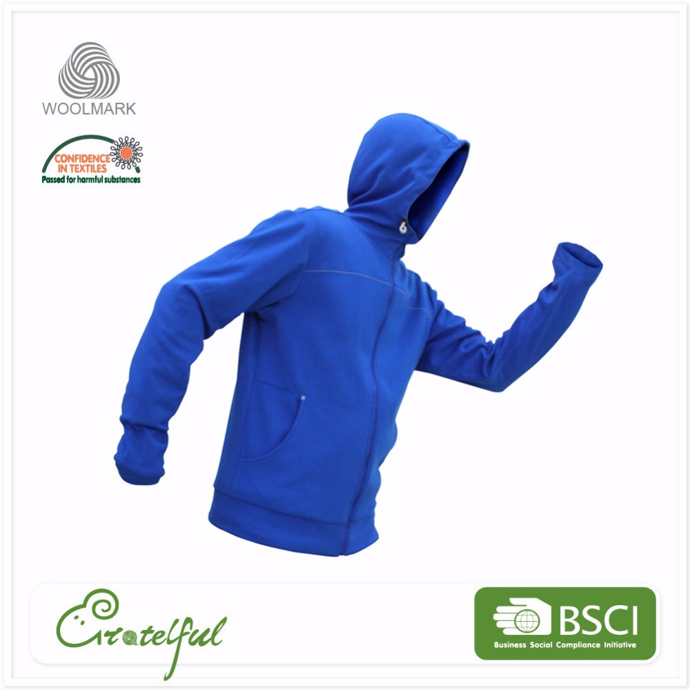 wholesale custom clothing wool sports pullover full zip hoodies for men