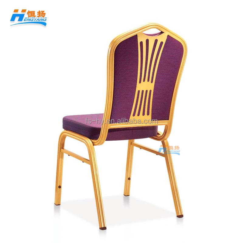 HB-6321 wholesale hot sale stacking molded seat banquet hall chairs hotel dining room chair for sale