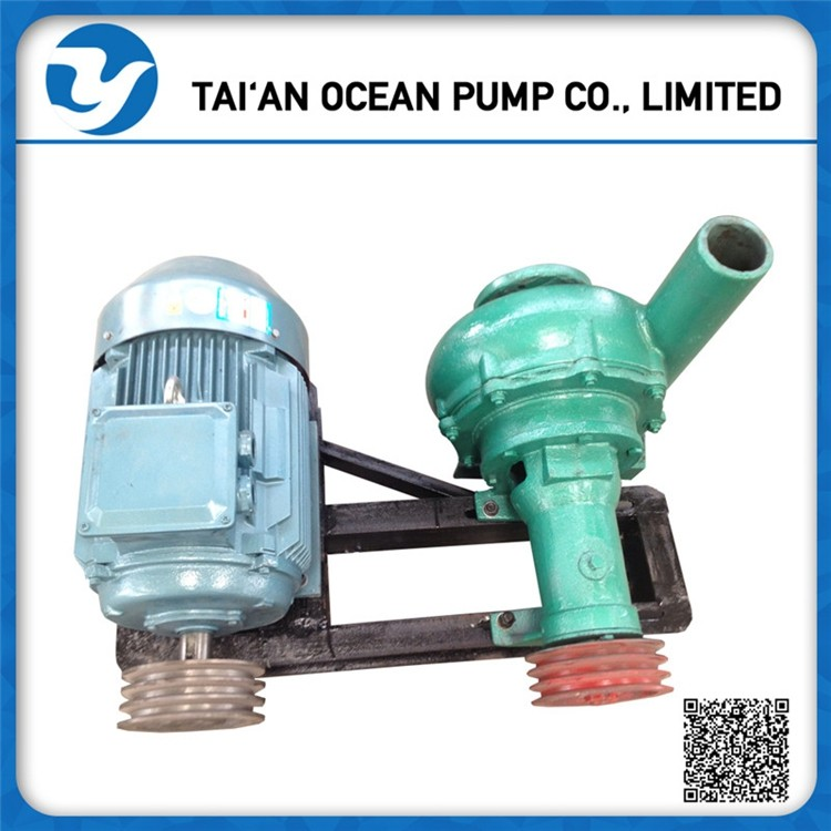 Small slurry pump simple sand dredge pump for sale