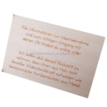 Kommerziellen Holz Karten Buy Kommerziellen Holz Karten Holz Id Karte Holz Visitenkarte Product On Alibaba Com