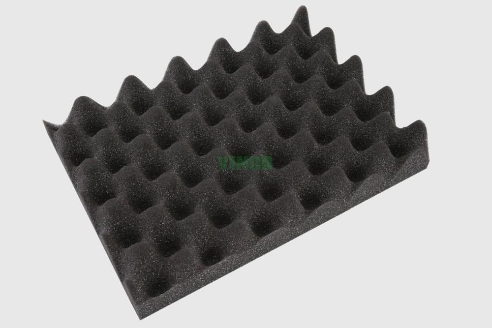 High Density Custom Shape And Size Acoustic Foam Panel