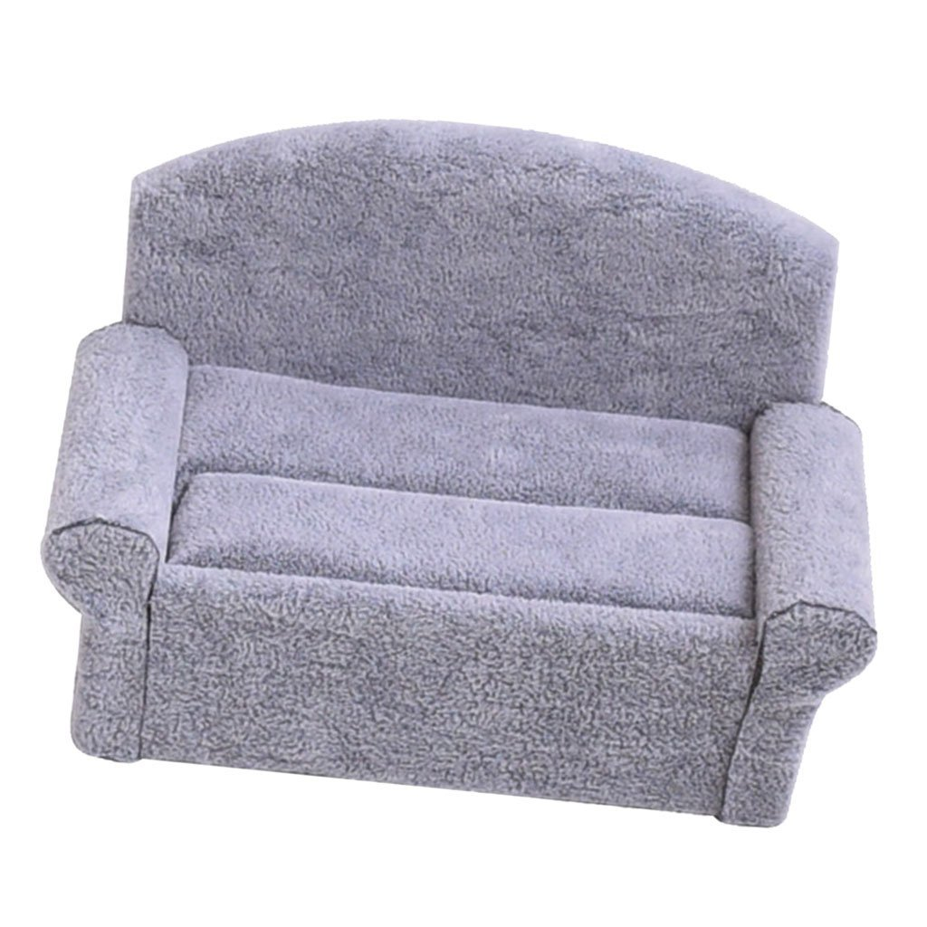 Get Quotations Homyl Small Cute Sofa Jewelry Display Stand Ring Earrings Velvet Holder Organizer Grey