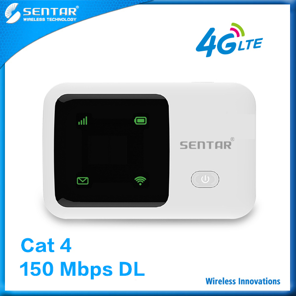 Share Wifi With Wireless Devices Sentar R95 Portable Wifi 3G 4G Wireless Router