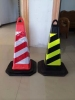 75cm EVA square traffic cones safety road cone