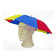 Factory direct sales customized logo printed clear umbrella hat