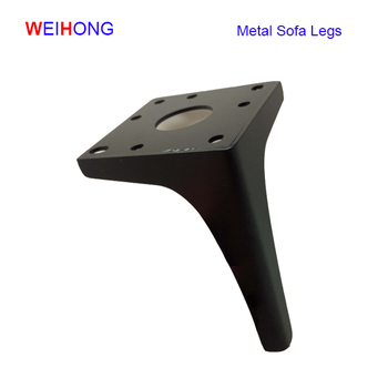 Black Chrome Metal Legs And Replacement Chrome Sofa Legs - Buy Metal ...