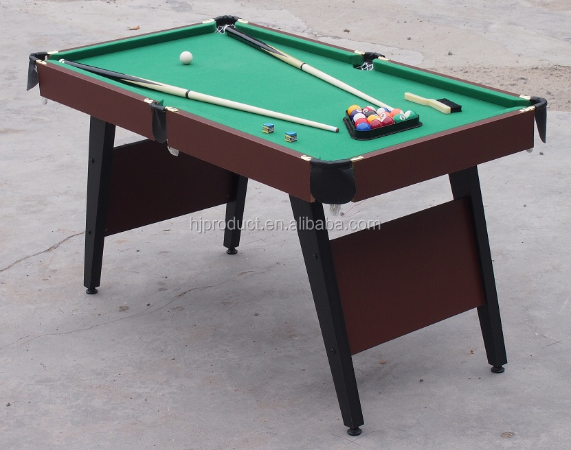 Exceptional Economic Folding Up Mdf Billiard Table, Kids Pool Table 5ft Folding On Hot  Sale