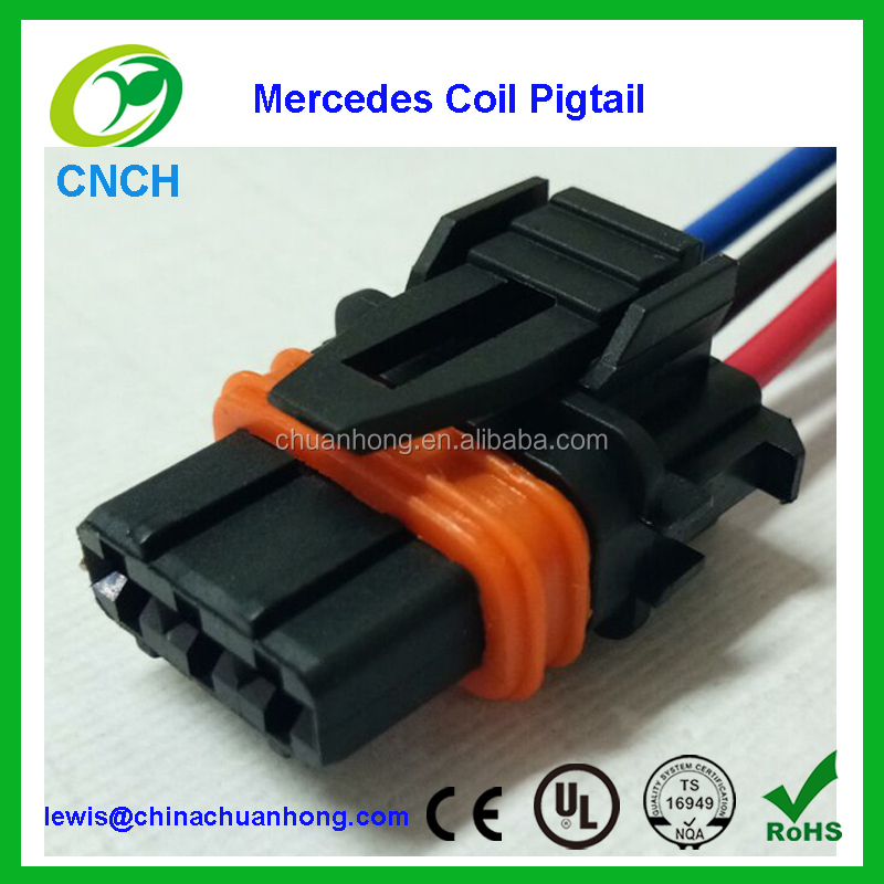 fuel ignition coil wiring connector housing pigtail wire for rh alibaba com Wiring Harness Connectors Mopar Wiring Connectors