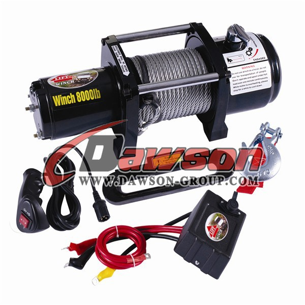 12000LBS Self Recovery Electric Winch for Jeep Truck Trailer CE Approved