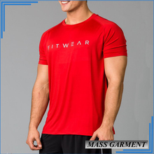 OEM Men's Fitness Apparel Shirt Wholesale Outlet Clothing