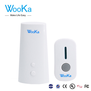 Wooka auto-learning code battery backup for doorbell cameraantique brass door bell
