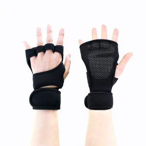 Adjustable Weight Lifting Gloves Silica gel Gym Workout Gloves