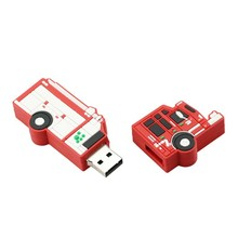 Custom 3D pvc car shaped pendrive 4GB usb flash drive for promotion gift