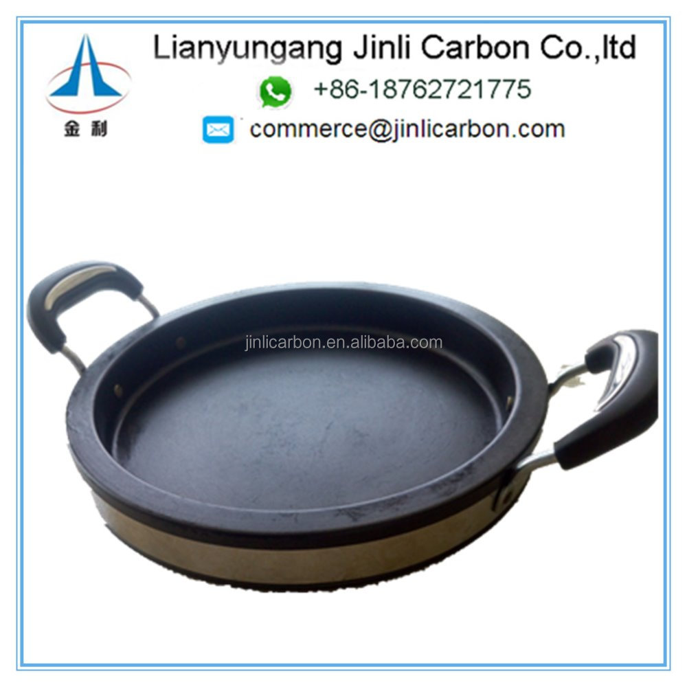 Eco Friendly Roasting Pan /BBQ Graphite Saute pan /Graphite Frying Pan