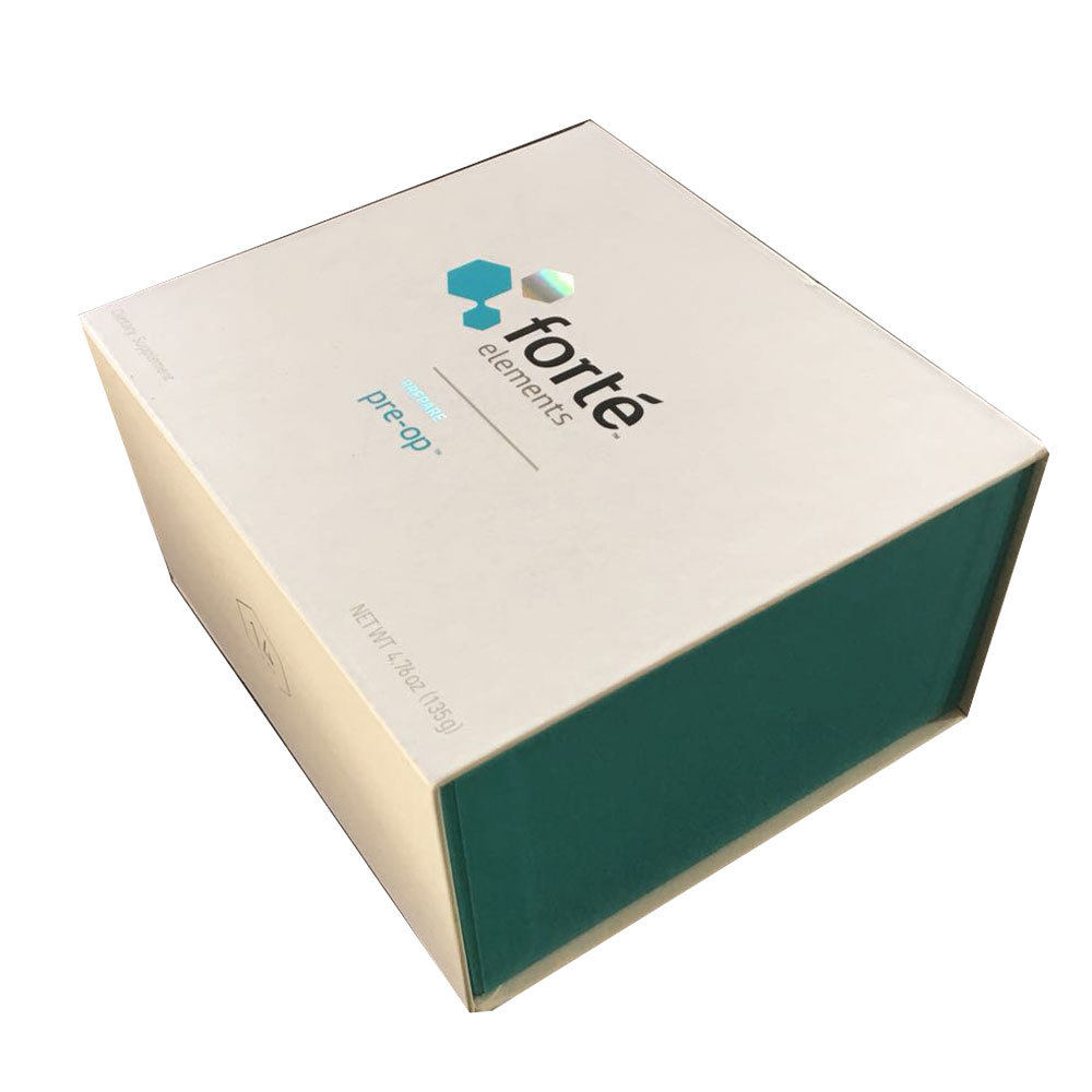 craft cake paper box packaging with custom logo