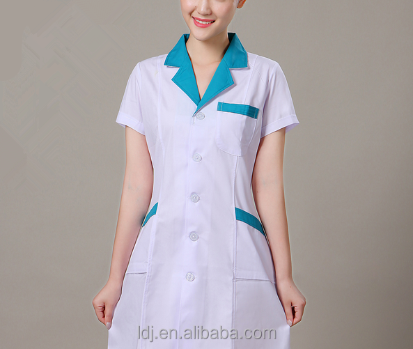 Pharmacy Medical Dermatology Office White Coat Antistatic Custom made