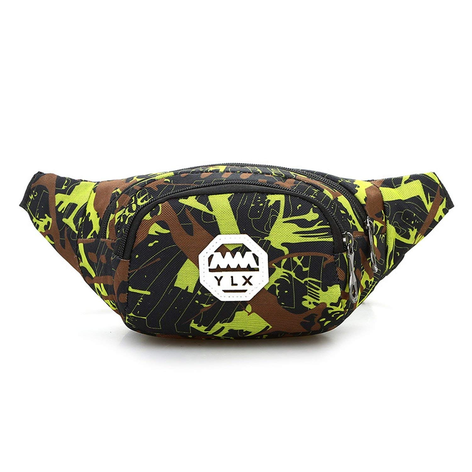 stewarted new outdoor sports camouflage pockets anti-theft chest bag men and women running mobile phone pockets board portable pockets