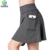 Hot selling Wholesales heather fabric sport tennis skirt&skort with shorts inside