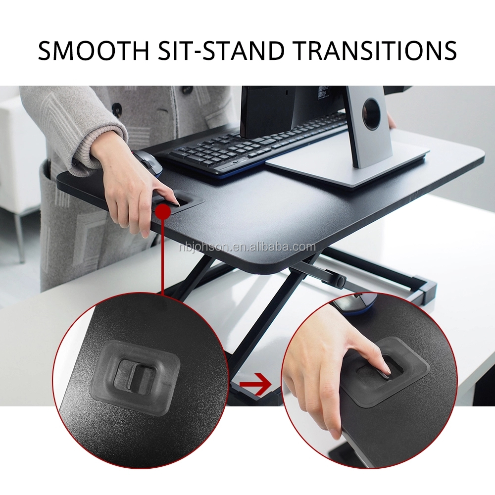 Laptop Height Sit To Stand Up Standing Desk Computer Table height adjustable table