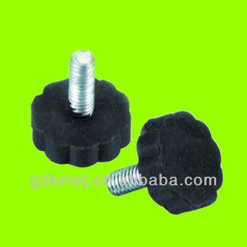 Plastic Adjustable Screw Feet For Furniture/cabinet/chair/desk (AF1711)