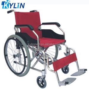 Lightweight folding aluminum manual wheelchair price in dubai KL978LXP