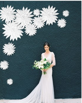 Flower Wall Backdrop Paper Wedding Decoration Art Diy Baby Shower Party