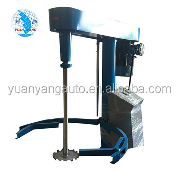 Water-based paint making machine High speed Disperser mixer